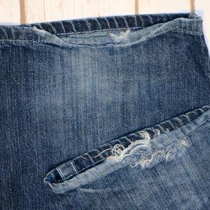 Big Star Jeans - Big Star Pioneer Regular Boot Cut Distressed Jeans
